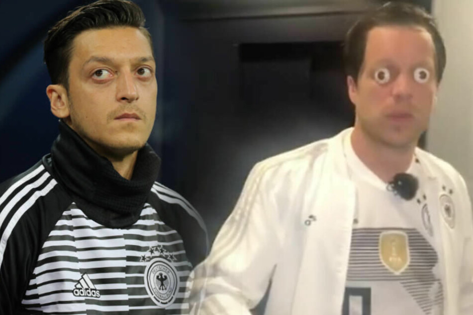 Mesut Özil muss gerade viel Spott und Häme aushalten - auch von Comedian Oliver Pocher.