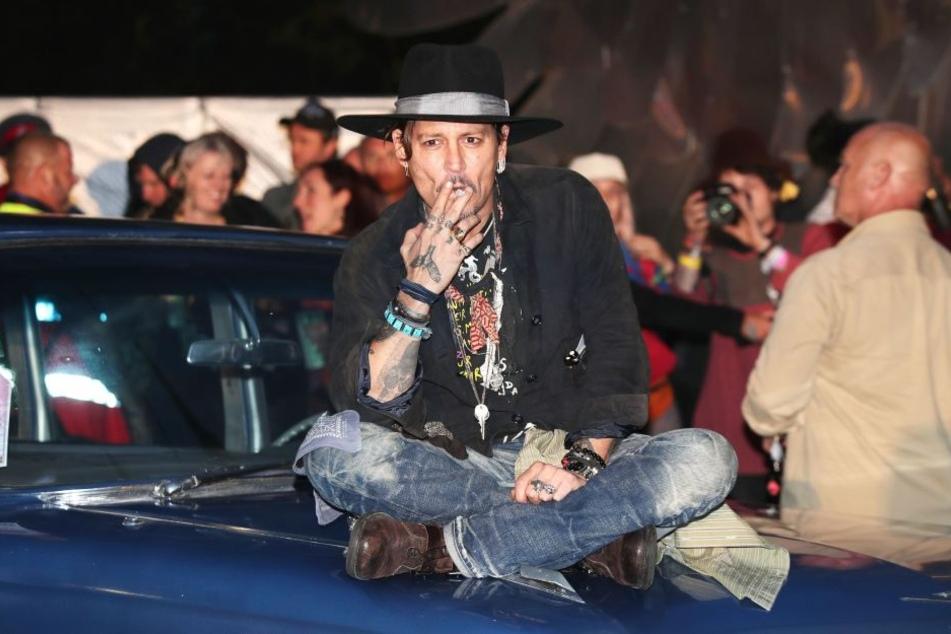 Seit der Trennung von Amber Heard und dem anschließenden Rosenkrieg hat Johnny Depp deutlich abgebaut.