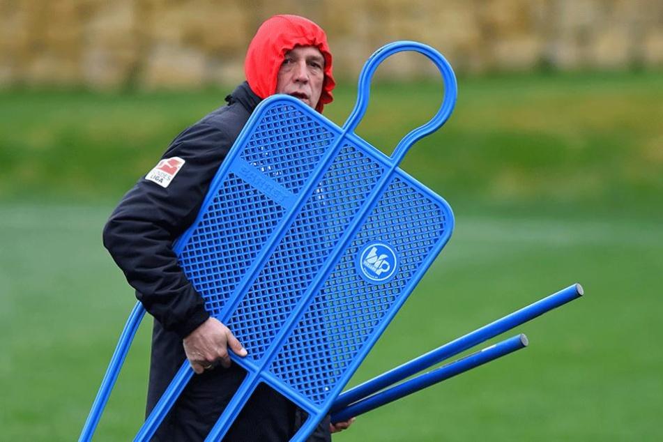 Zwei Tage musste sich Uwe Neuhaus in Marbella etwas wärmer anziehen.