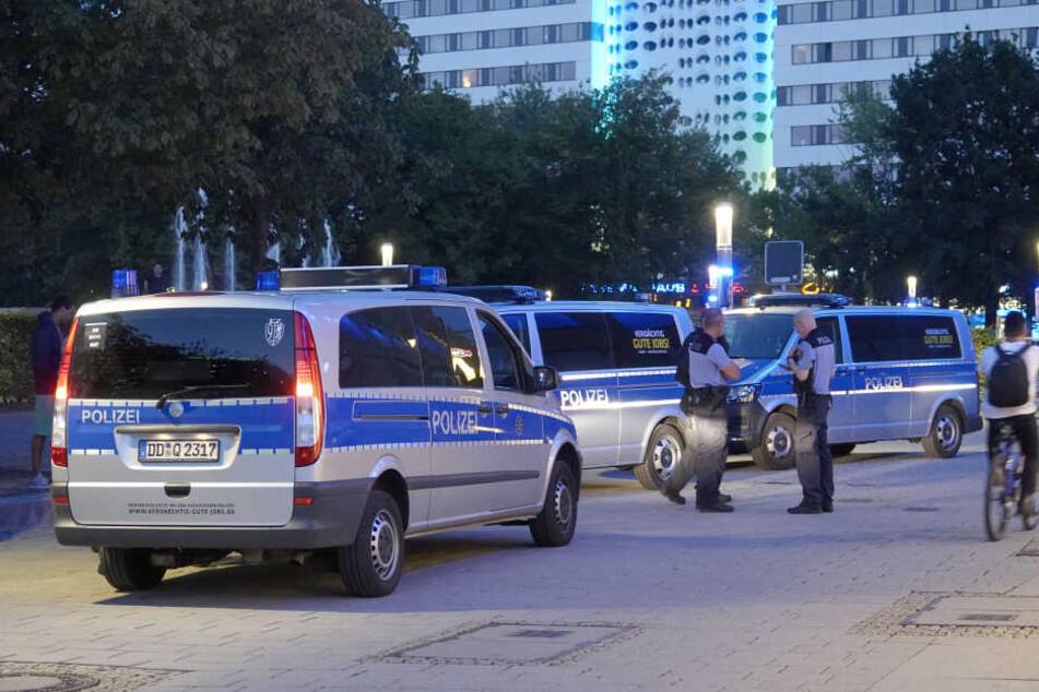 Chemnitz: Polizeieinsatz in Chemnitzer Innenstadt: Schlägerei gemeldet