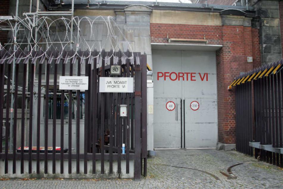 In der JVA Berlin-Moabit brannte es in einer Zelle. (Archivbild)