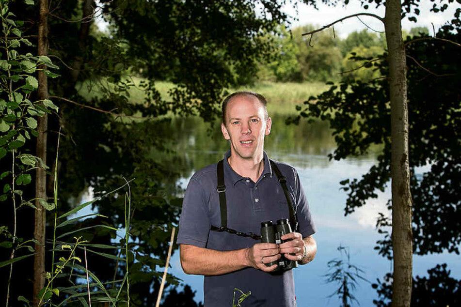 Winfried Nachtigall (46) ist Vogel-Experte beim Naturschutzbund (NABU).
