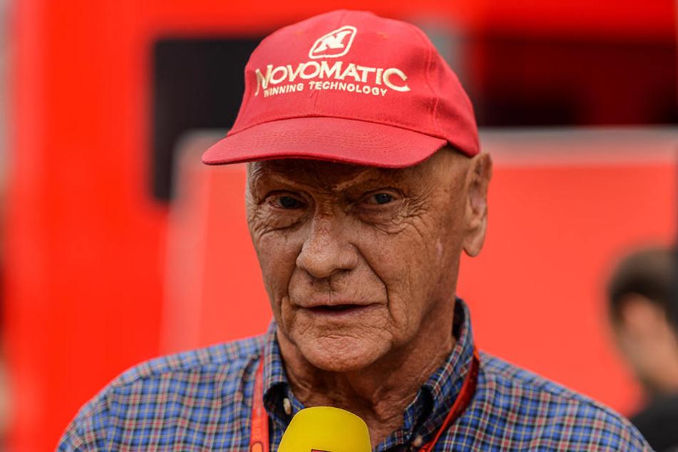Niki Lauda war bereits seit 1995 Formel-1-Experte für den Privatsender RTL.
