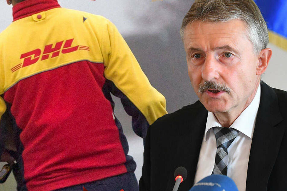 Brandenburgs Innenminister ist zuversichtlich, dass der DHL-Erpresser bald geschnappt wird.