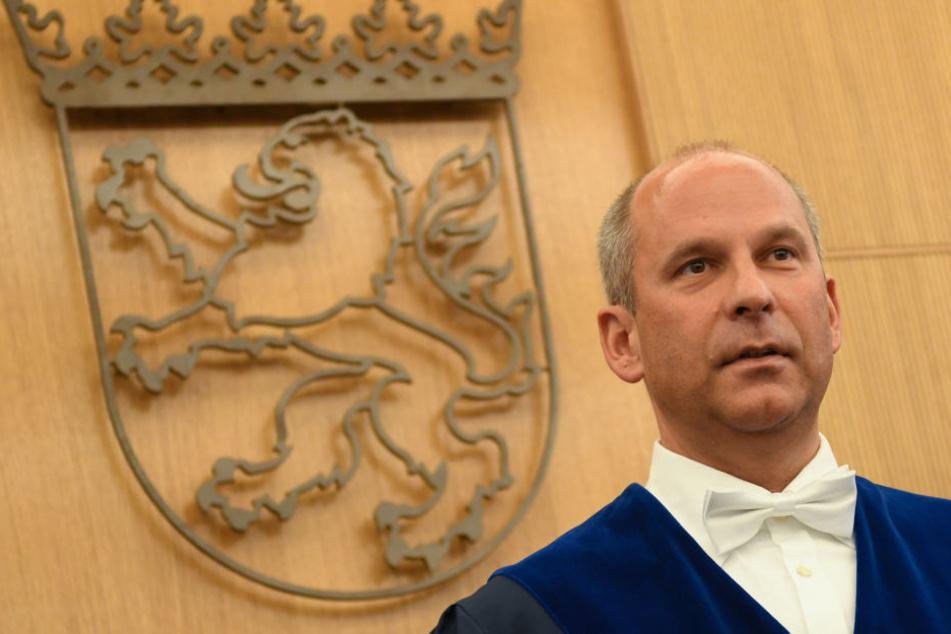 Roman Poseck, OLG-Präsident, spricht sich gegen eine Auslieferung an die Türkei aus.