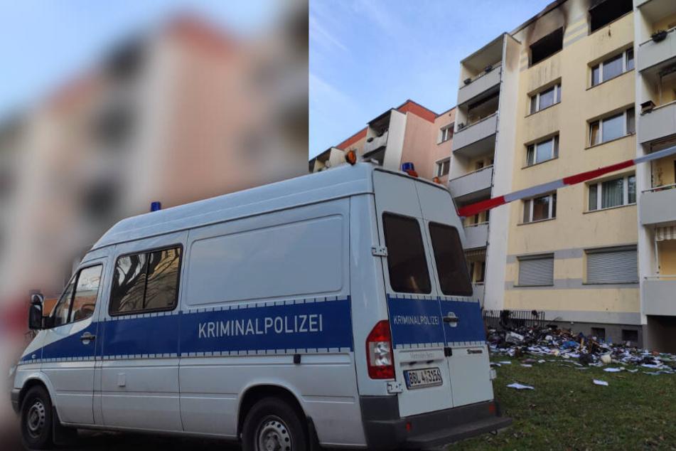 Tödlicher Brand in Mehrfamilienhaus: Frau stirbt in Feuer-Wohnung