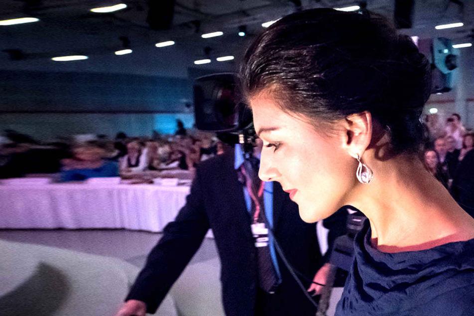 Sahra Wagenknecht: will nichts weniger, als die Grundrichtung der Politik in diesem Land zu verändern.