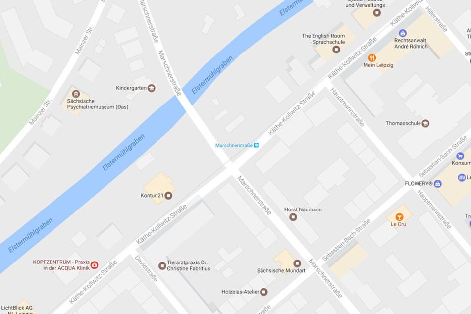 An der Kreuzung Käthe-Kollwitz-Straße/Marschnerstraße kracht es ständig und auch Tram-Nutzer und Fußgänger leben hier gefährlich.