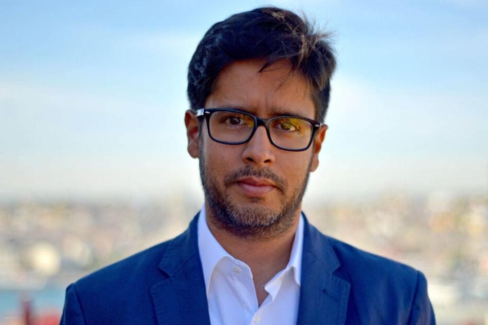 Spiegel-Journalist Hasnain Kazim (Foto) ging während des Facebook-Experiments mit Palmers Followern hart ins Gericht.