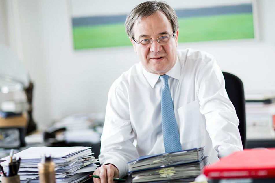 CDU-Chef Armin Laschet will in NRW 2017 Ministerpräsident werden.