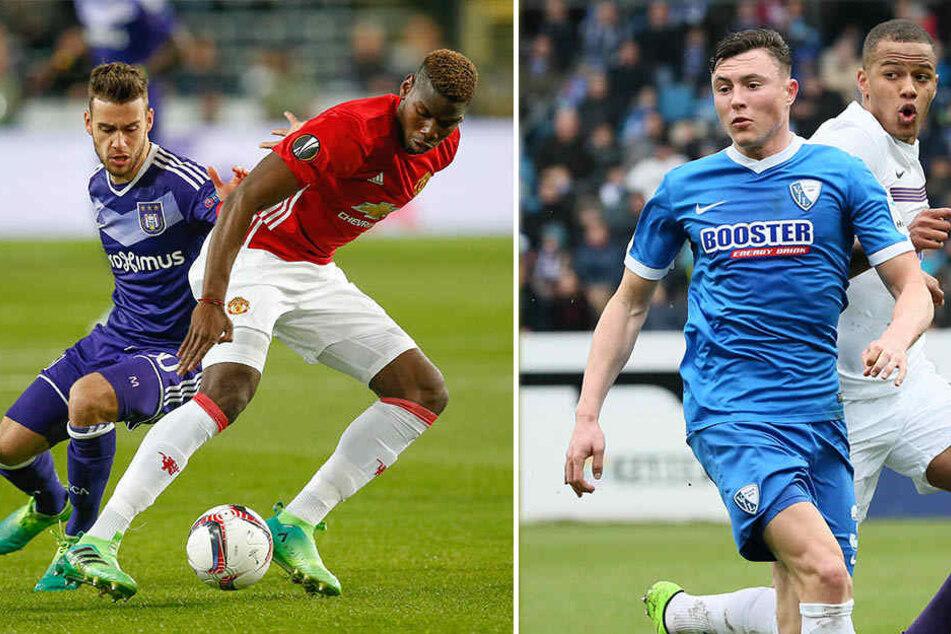 Massimo Bruno (l., Anderlecht) entwickelte sich ebenso wie Nils Quaschner (blaues Trikot, Bochum) schnell zur Stammkraft. Möglich, dass beide dort bleiben, wo sie gerade sind.