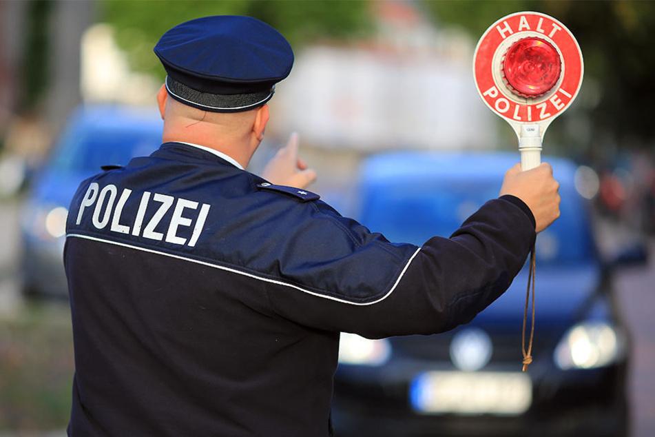 Der 33-Jährige entkam der Polizeikontrolle nicht. (Symbolbild)