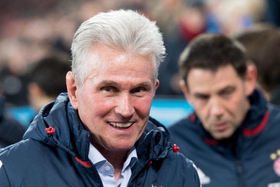 FCB-Trainer Jupp Heynckes will mit seinen Bayern unbedingt ins Halbfinale.