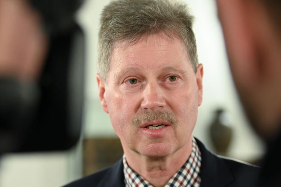 Neukirchens Bürgermeister Klemens Olbrich.