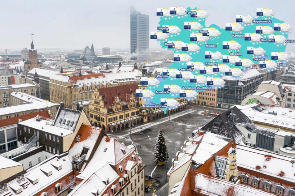 Leise rieselt der Schnee? So wird diese Woche das Wetter in Sachsen!