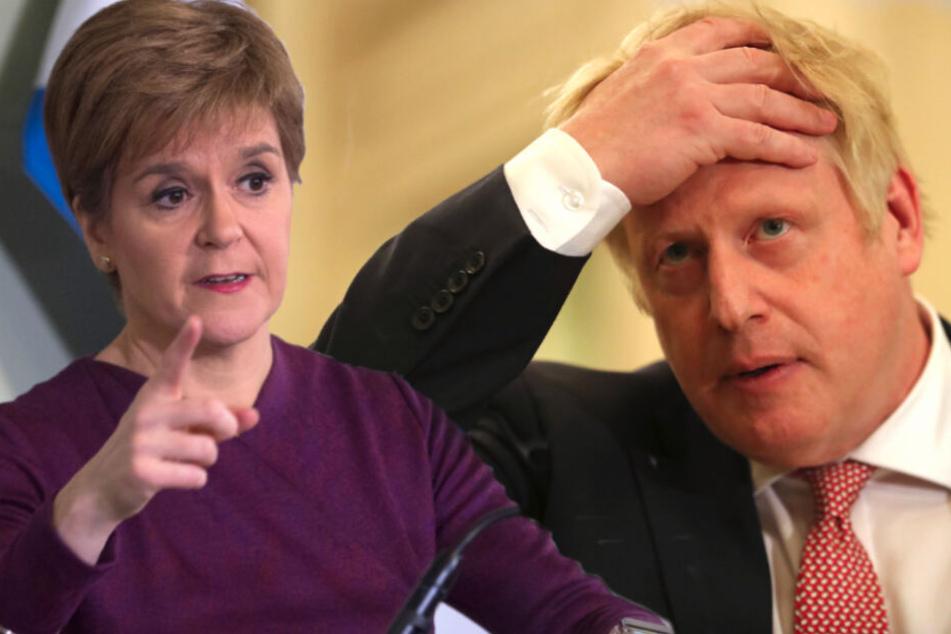 Brexit-Zoff: Schottland will Unabhängigkeit, Boris Johnson passt das nicht
