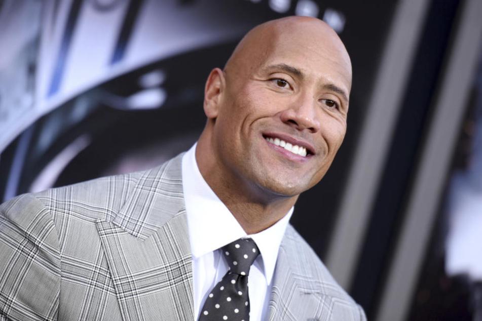 """Der Schauspieler Dwayne """"The Rock"""" Johnson kokettierte bereits 2015 öffentlich mit einer Polit-Karriere."""