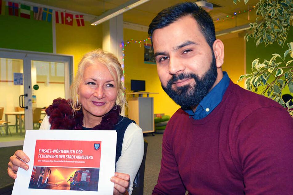 Fazel Nasry entwickelte die App als Studienarbeit. Dafür hat er mit dem Fachsprachenzentrum unter der Leitung von Dr. Susanne Hecht zusammengearbeitet.