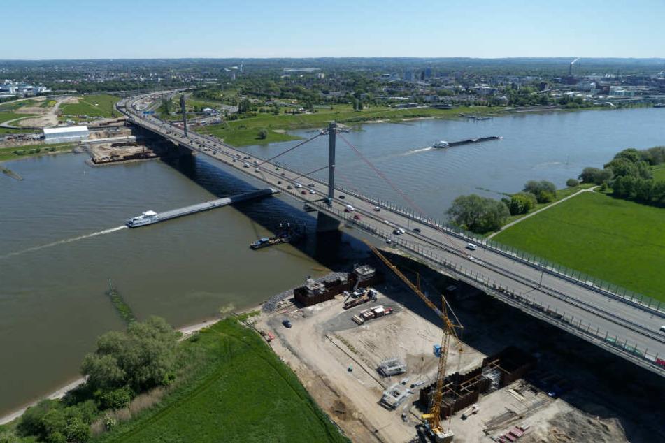 Die Leverkusener Rheinbrücke wird später fertig als geplant.