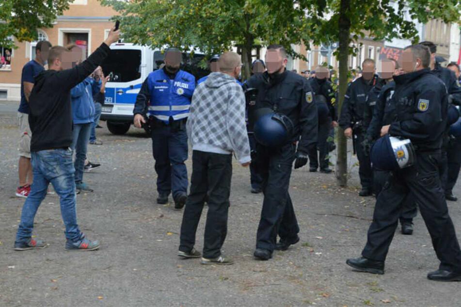 Vor allem Personen aus dem rechten Lager sorgten für vereinzelte Zwischenfälle während der Demo.