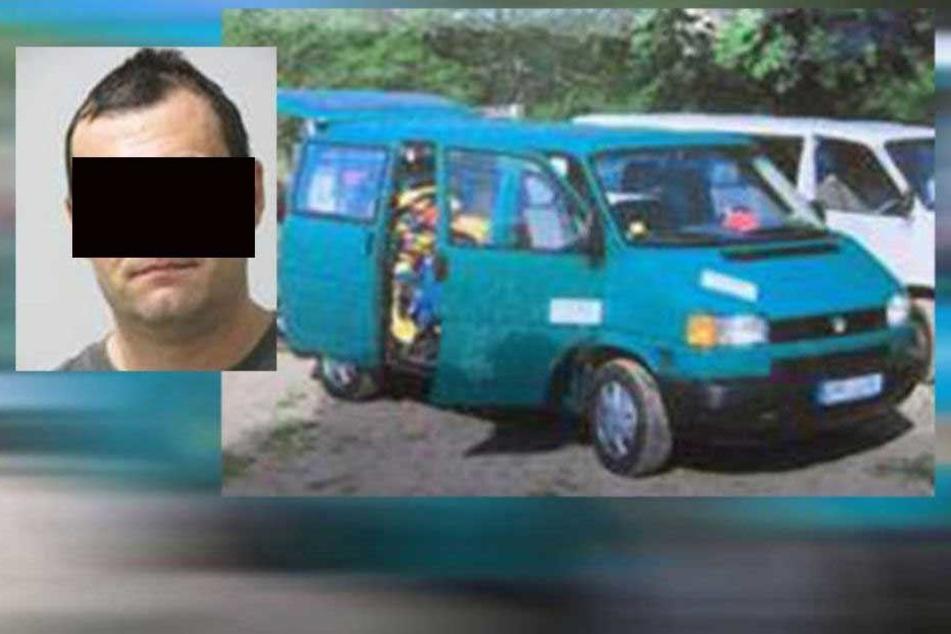 Der Tatverdächtige war vier Tage auf der Flucht, sein Fluchtwagen wurde in Dresden gefunden.