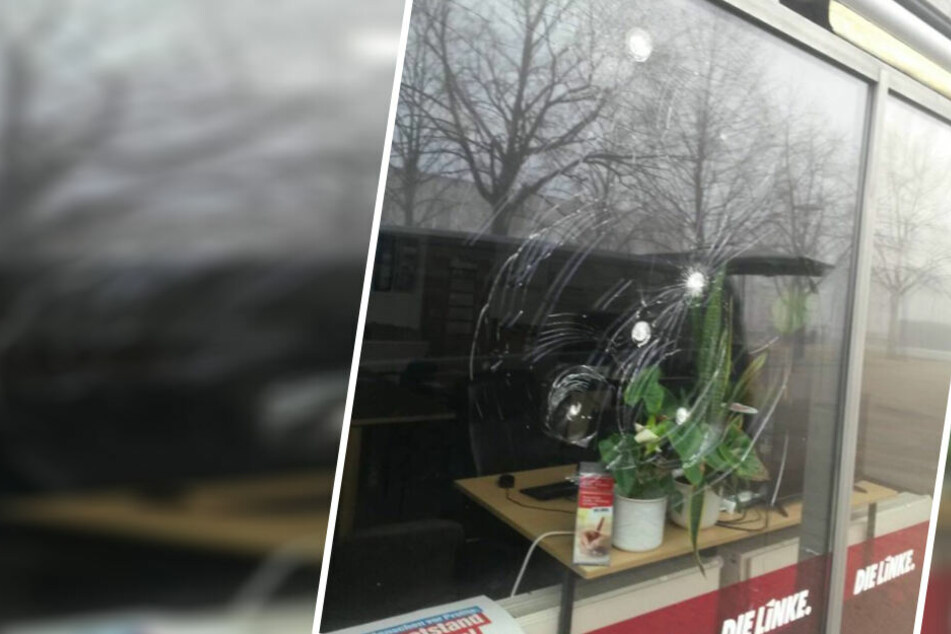 Gleich mehrere Fensterscheiben sollen beschädigt worden sein.