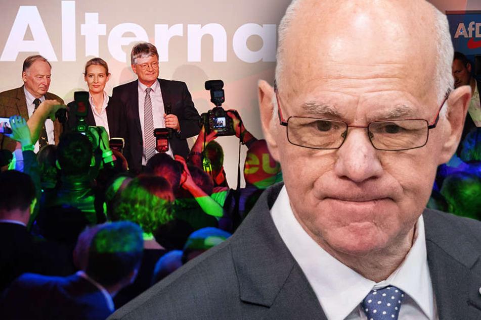 """Das Ergebnis für die große Koalition nannte Lammert """"ernüchternd"""". (Bildmontage)"""