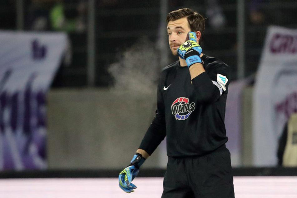 Beim 0:0 gegen Fortuna Düsseldorf stand Männel erstmals wieder im Tor.