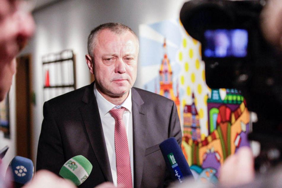 Ex-Kultusminister Frank Haubitz hatte sich für die Verbeamtung der Lehrer in Sachsen stark gemacht.