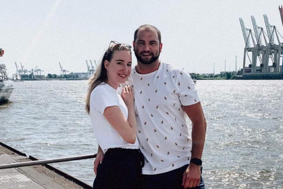 Melissa und Philipp sind in Hamburg zusammengezogen.