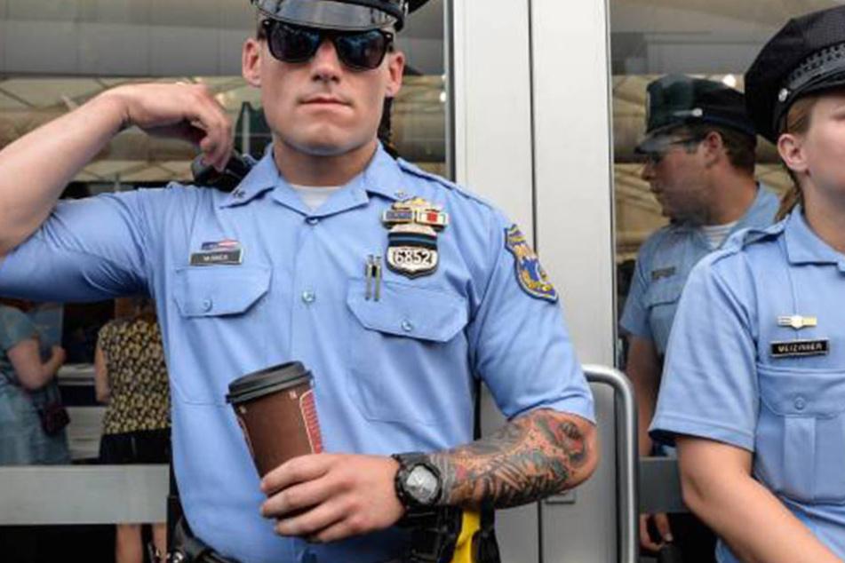 Cops aus Philadelphia (USA) trafen den damals 20-jährigen Philippe 14 Mal. (Symboldbild)