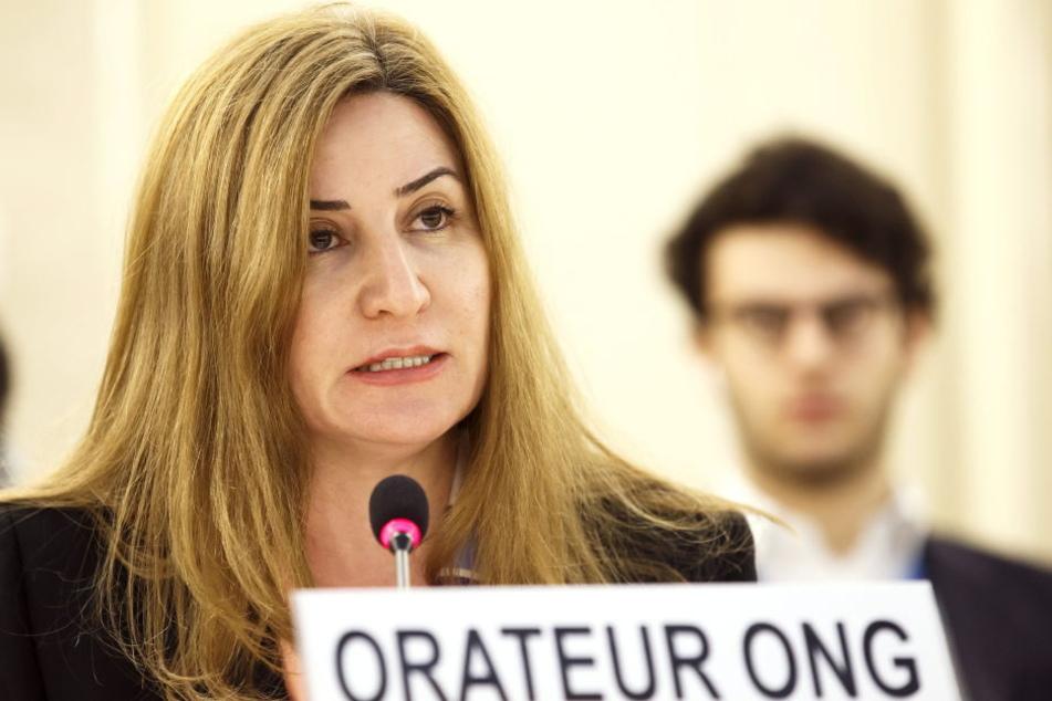 Vian Dakhil (46) ist die einzige Jesidin im irakischen Parlament und gilt als Stimme der jesidischen Frauen.