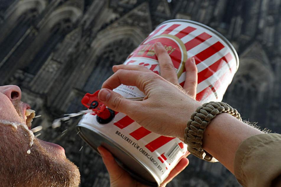 Ach du Schreck: Kölsch-Absatz in Köln sieht alt aus