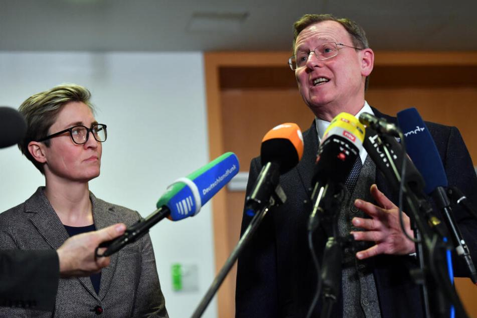 Bodo Ramelow will bei MP-Wahl nun doch keine Stimmen der CDU mehr