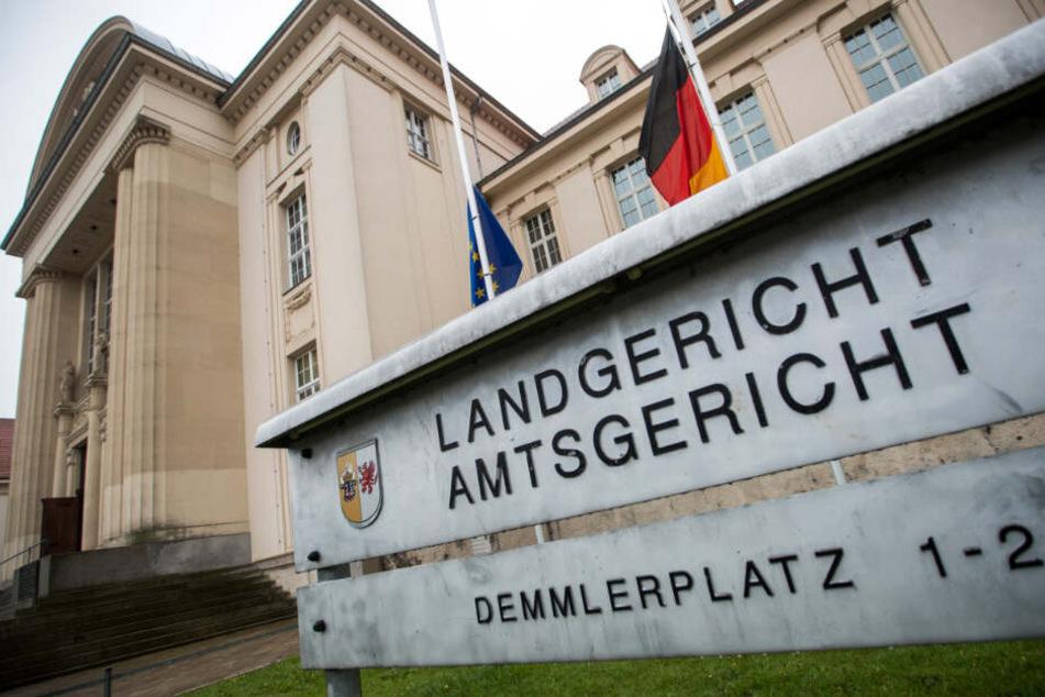 """Am Landgericht Schwerin beginnt der erste """"Nordkreuz""""-Prozess. (Archivbild)"""