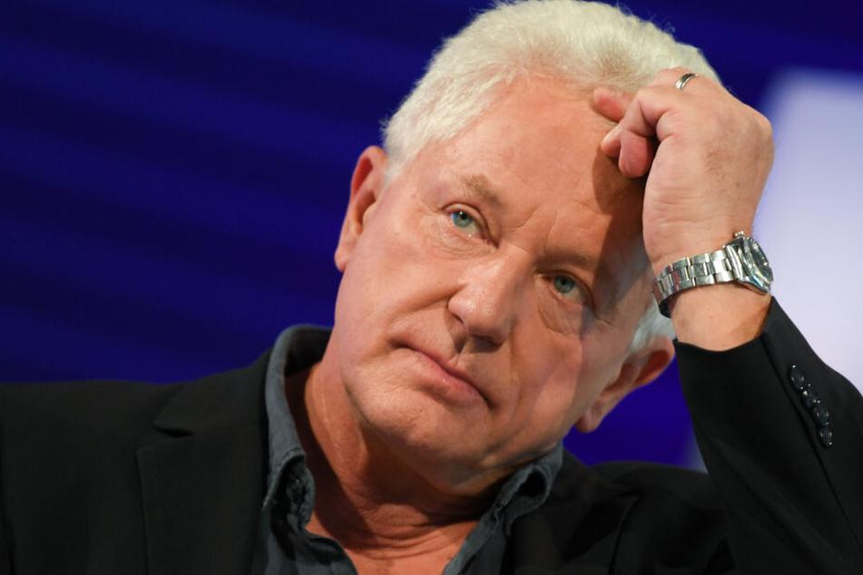 Miroslav Nemec, Schauspieler und Autor, blickt auf der Frankfurter Buchmesse bei seinem Auftritt auf der ARD-Bühne in die Runde. Am 26.06.2019 wird er 65 Jahre alt.