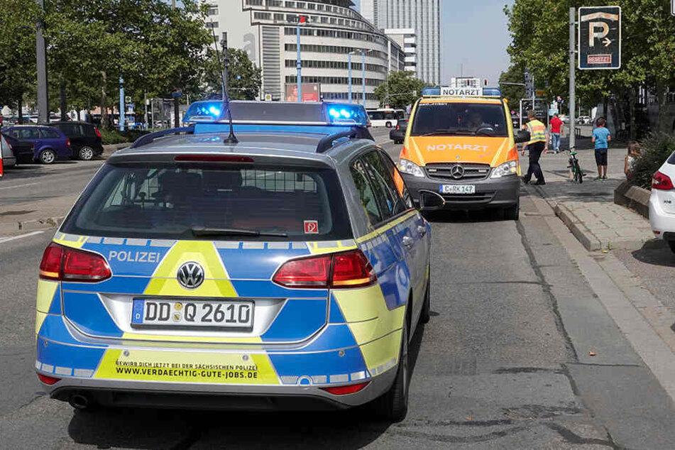 Schwerer Unfall in Chemnitz: Mädchen (7) von Audi erfasst
