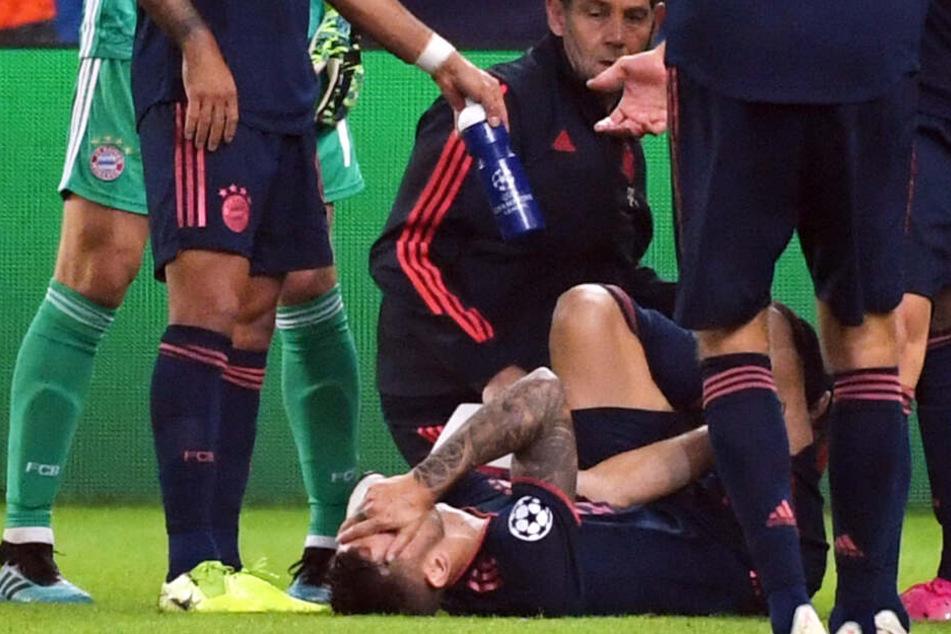 Lucas Hernández verletzte sich beim CL-Spiel gegen Olympiakos Piräus.