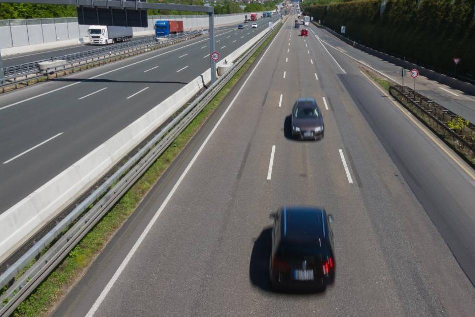 Zehn Kilometer lang fuhr der Rentner in die falsche Richtung. (Symbolbild)