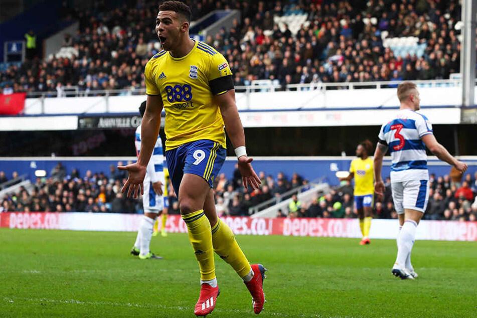 Brachte Birmingham City mit drei Toren in der ersten Halbzeit nahezu im Alleingang auf die Siegerstraße: Das englische Sturmtalent Che Adams.