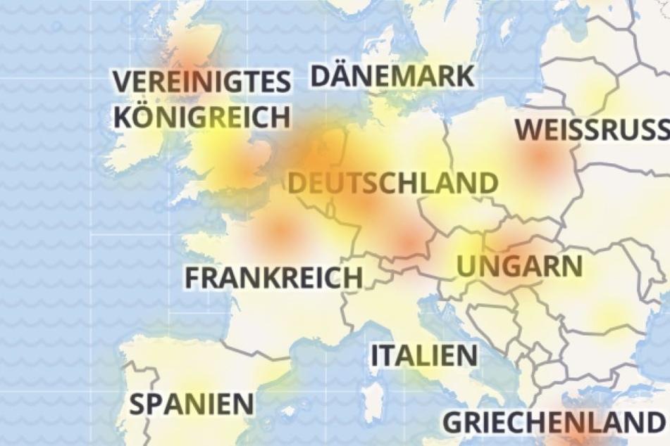 Seit Dienstagfrüh hat Facebook in ganz Europa massive Probleme.