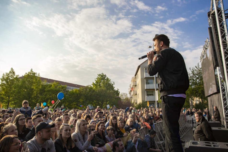 Mit Clueso, Fanta 4 und Joris: 10.000 Menschen feiern in Erfurt