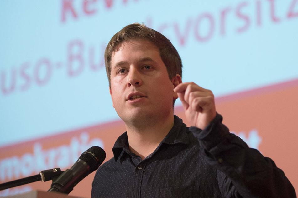 Für den Juso-Vorsitzenden Kevin Kühnert ist das Ergebnis der Abstimmung noch offen.