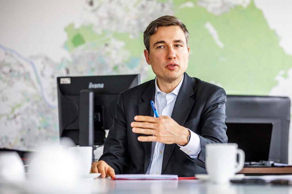 Baubürgermeister Stephan Kühn (41, Grüne) will das Projekt beschleunigen.