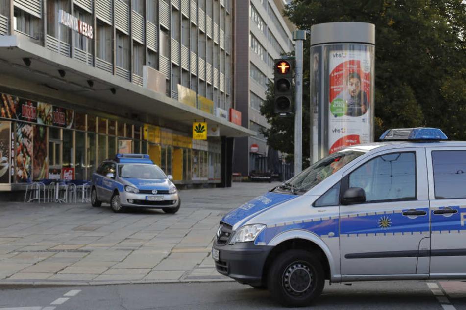Die Tat passierte in der Brückenstraße, direkt neben dem Stadtfestgelände.
