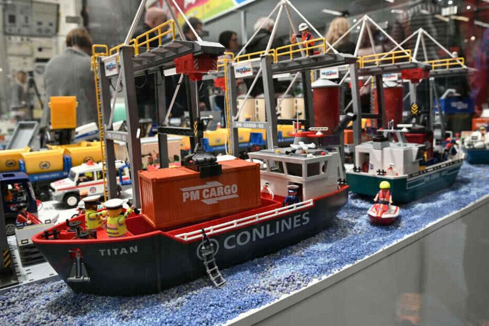 Am Playmobil-Hafen ist jede Menge los!