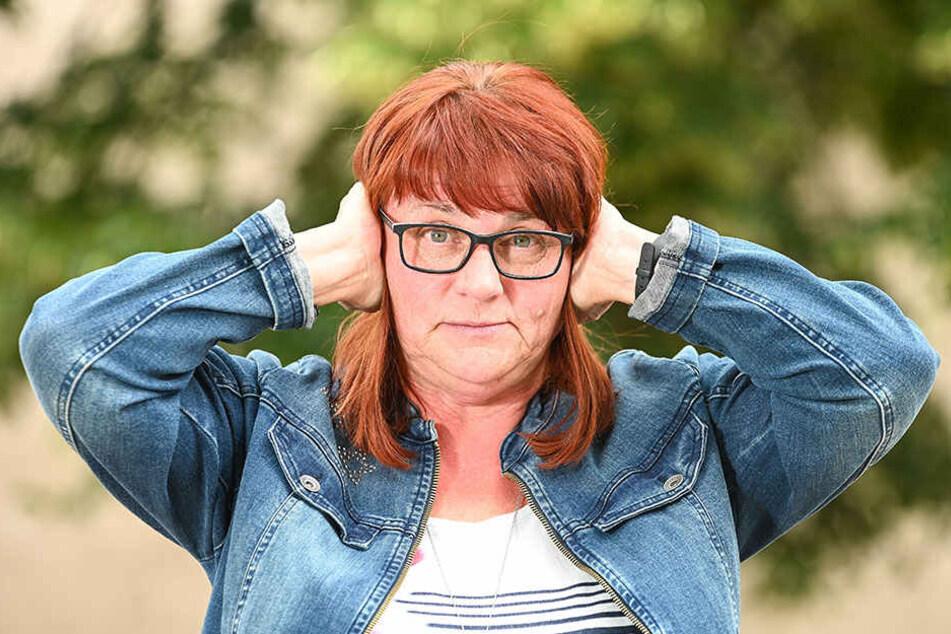 Andrea Mücke (57) beklagt sich - wie viele - über den Kanonen-Donner.