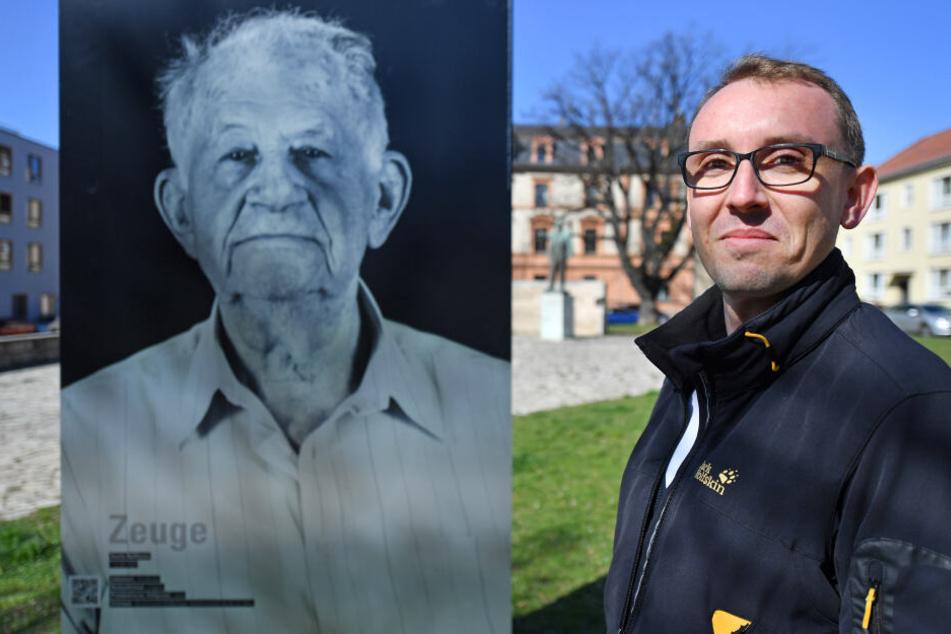 """Bei der Ausstellung """"Die Zeugen"""" werden in Weimar 16 Bilder von KZ-Überlebenden des Fotografen Thomas Müller gezeigt. (Archivbild)"""
