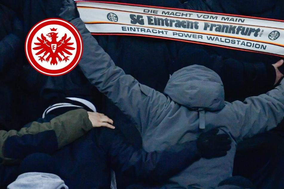 Eintracht-Hools überfallen Donezk-Fans auf offener Straße!