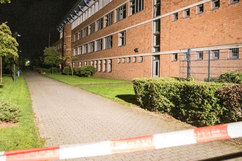 Zeugen hatten Schüsse auf dem Gelände des Gymnasiums Allermöhe gehört.